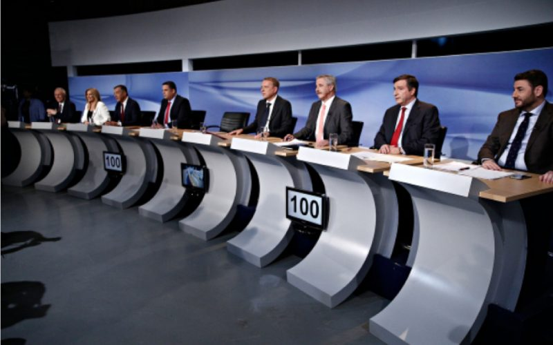 debate των 9 υποψηφίων για την ηγεσία της Κεντροαριστεράς
